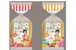 もちっと食感!小倉優子監修「やさしいパンやさん 野菜だいすき」新発売