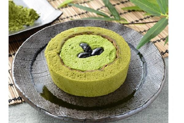 Lawson Premium Uji抹茶和Tamba黑豆卷蛋糕