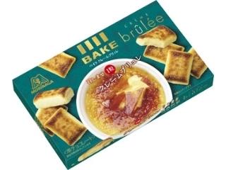 森永製菓 ベイク クレームブリュレ 箱10粒