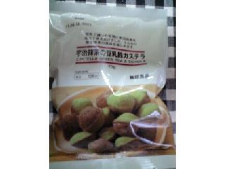 無印良品 宇治抹茶の豆乳鈴カステラ 袋70g