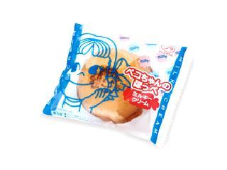 不二家 ペコちゃんのほっぺ ミルキークリーム 袋1個