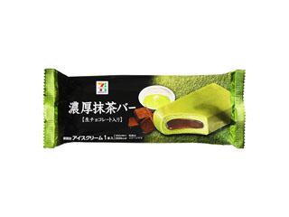 セブンプレミアム 濃厚抹茶バー 生チョコレート入り 袋90ml