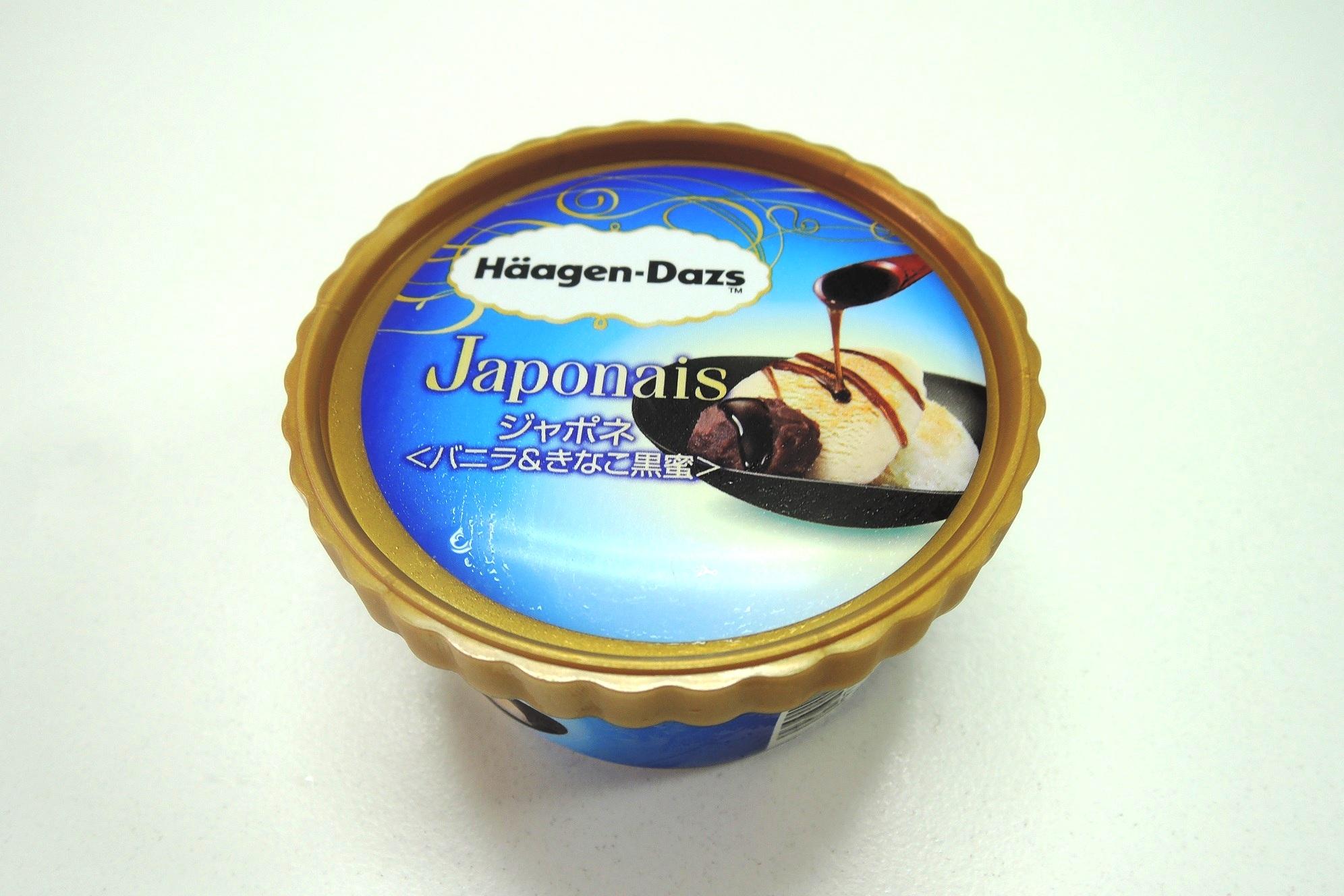 ハーゲンダッツの新作和スイーツ♪セブンイレブン限定の「ジャポネ <バニラ&きなこ黒蜜>」を食べてみました!