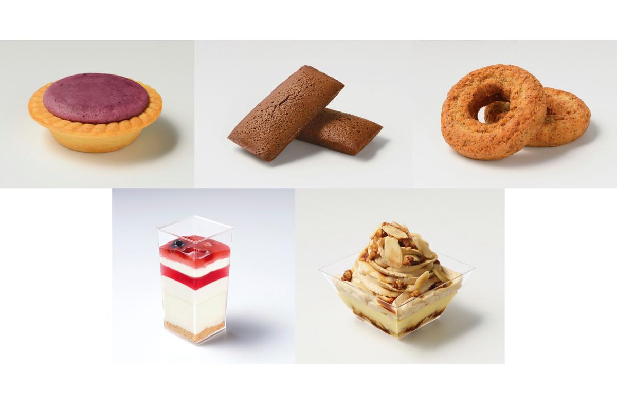 サンクス「紅芋の濃厚チーズタルト」など:新発売のコンビニスイーツ