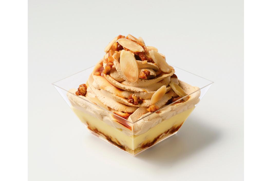 塩キャラメルとバナナのマウンテンケーキ