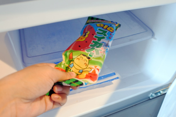 冷凍庫にスイカバーがログインしました。