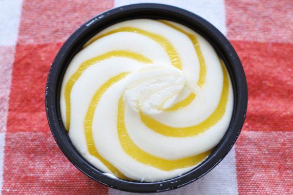 濃厚クリームチーズアイス レモン&クッキー 外観