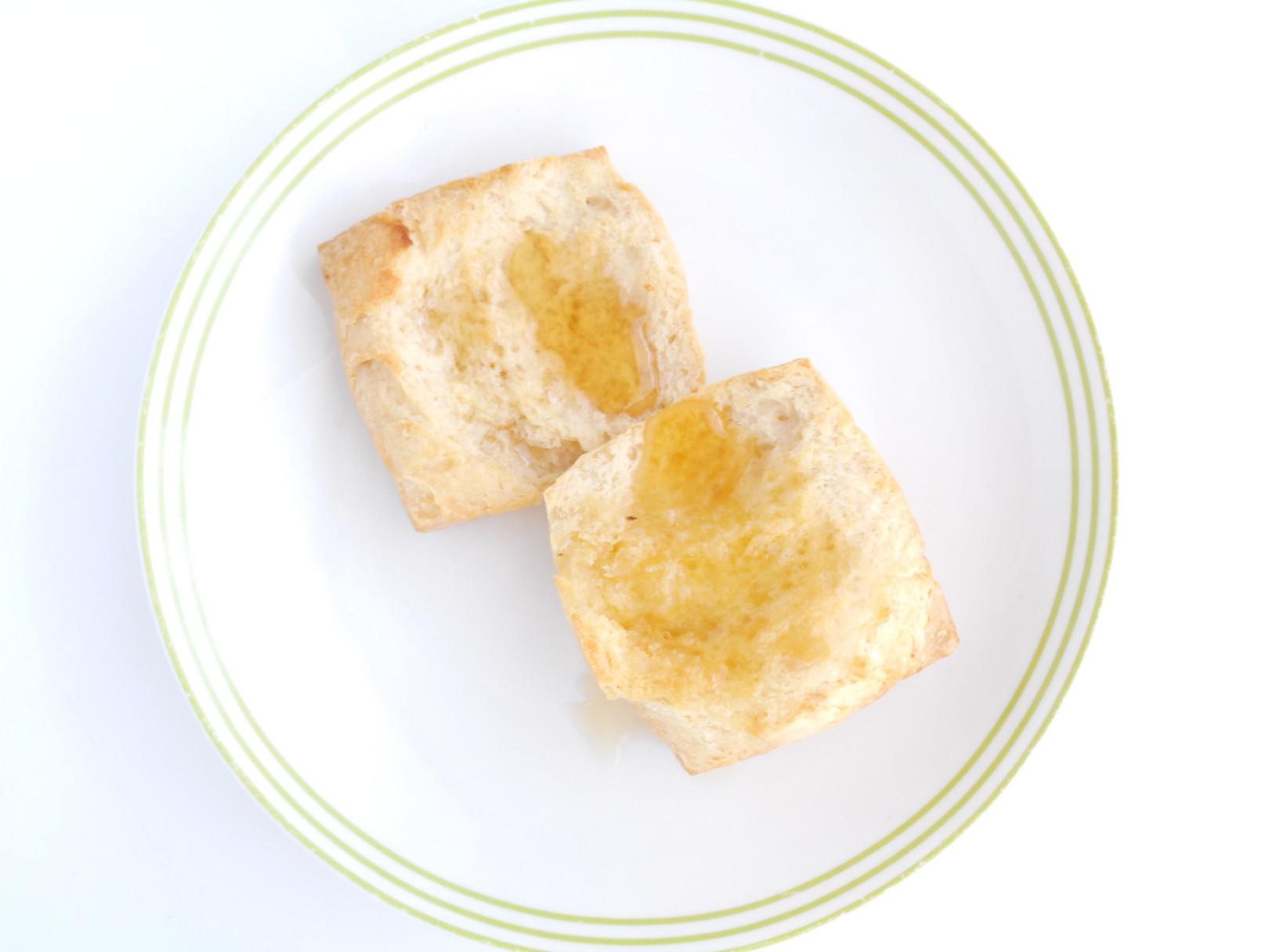 濃厚なはちみつにコクあるバターは最高のマリアージュ☆