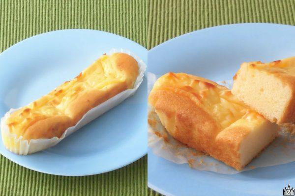 ゴーダチーズを生地に練り込んだうえトッピングにまで使用した温めてもおいしいスティックケーキ。
