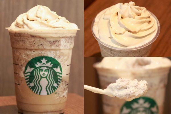【コーヒークリーム】スタバ新作フラペチーノ!クリーミーなコーヒーとフローズンを味わえる!