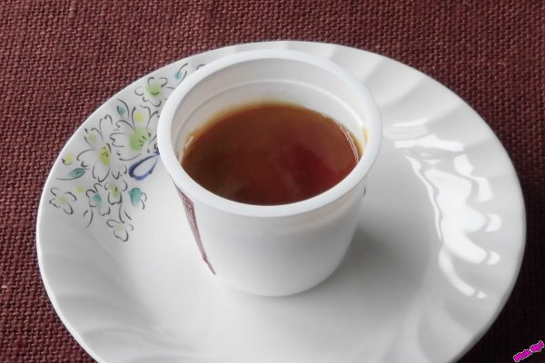 とろける食感のきなこぷりんとコクのある黒みつソースを合わせた和ぷりん。