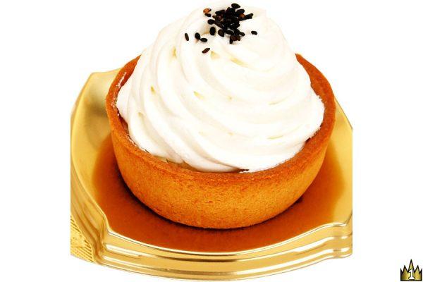 まろやかな酸味と優しい味わいが特徴の、豆乳クリーム入りチーズタルト。