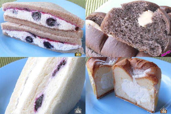 3位:ローソン「ふわふわシフォンケーキ 瀬戸内産レモン」、2位:ローソン「レアチーズケーキサンド」、ピックアップ:セブン-イレブン「チョコバナナクリームのちぎりパン」、1位:セブン-イレブン「ブルーベリーのショコラサンド」