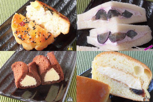 3位:セブン-イレブン「プリンクリームパン」、2位:ローソン「ブランのチョコオムレット ~バナナクリーム~」、ピックアップ:ローソン「ナガノパープルサンド」、1位:ローソン「さつまいものクロッカン~宮崎紅いも~」