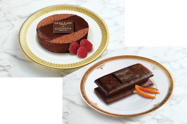ローソン「ショコラクッキーサンド」「濃厚ショコラケーキ」