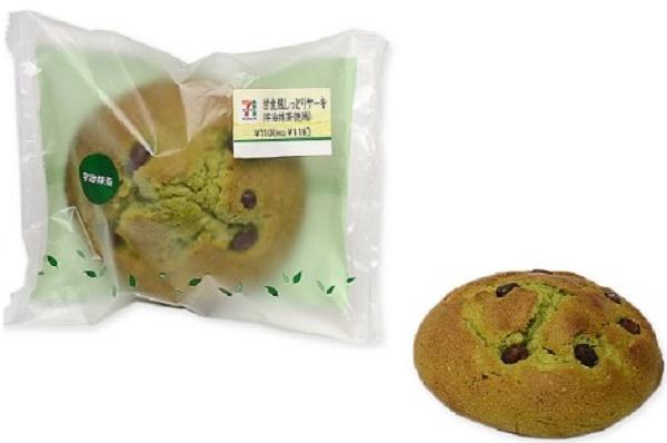セブンイレブン 甘食風しっとりケーキ(宇治抹茶使用)
