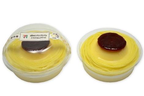 セブンイレブン お芋のモンブランプリンパフェ