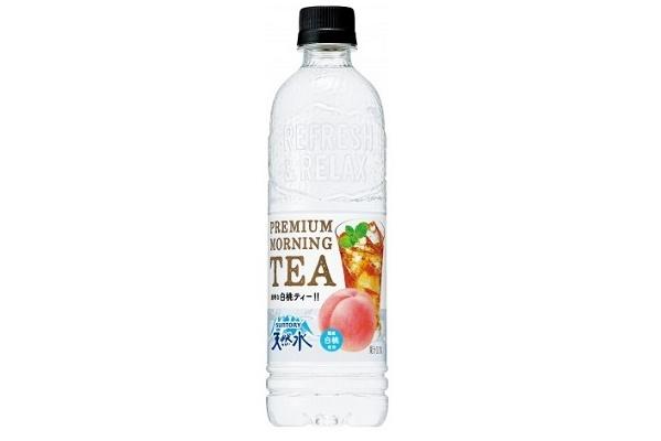 サントリー サントリー天然水 PREMIUM MORNING TEA 白桃