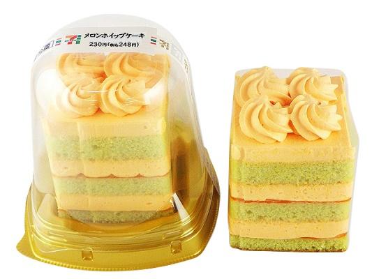 セブンイレブン メロンホイップケーキ