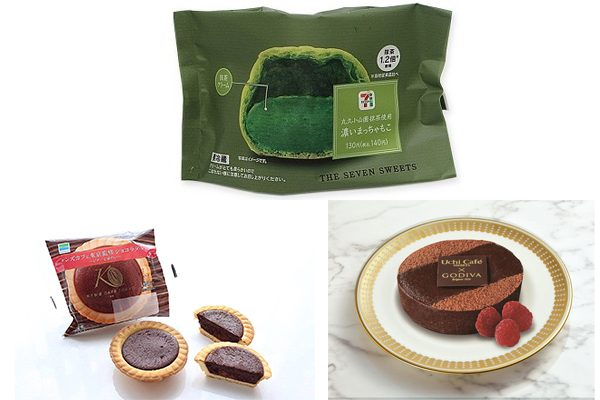 洋菓子部門の大賞はチョコ味を抑えて抹茶味がGET! もぐナビ「おやつ大賞2018 上半期」