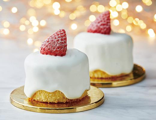ローソン・苺のキャンドルケーキ