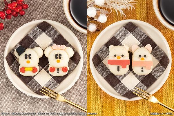 バンダイ 食べマス Disney WinterHoliday ver.