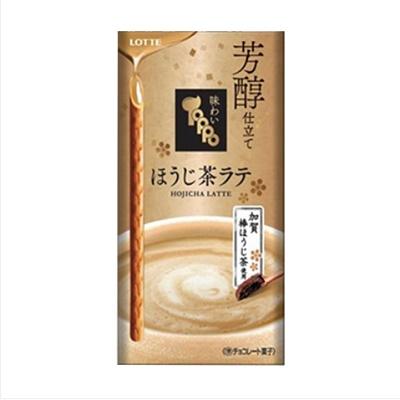 ファミリーマート ロッテ 味わいトッポ 芳醇仕立てほうじ茶ラテ