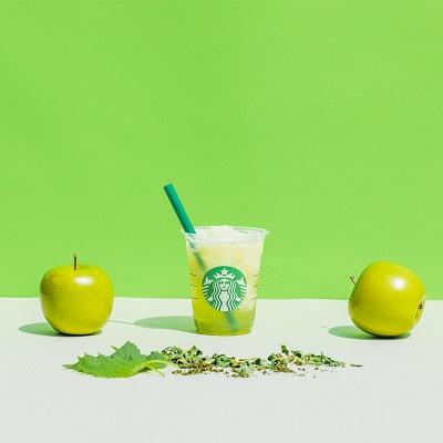 スターバックス ティバーナ フローズンティー 香る煎茶×グリーン アップル