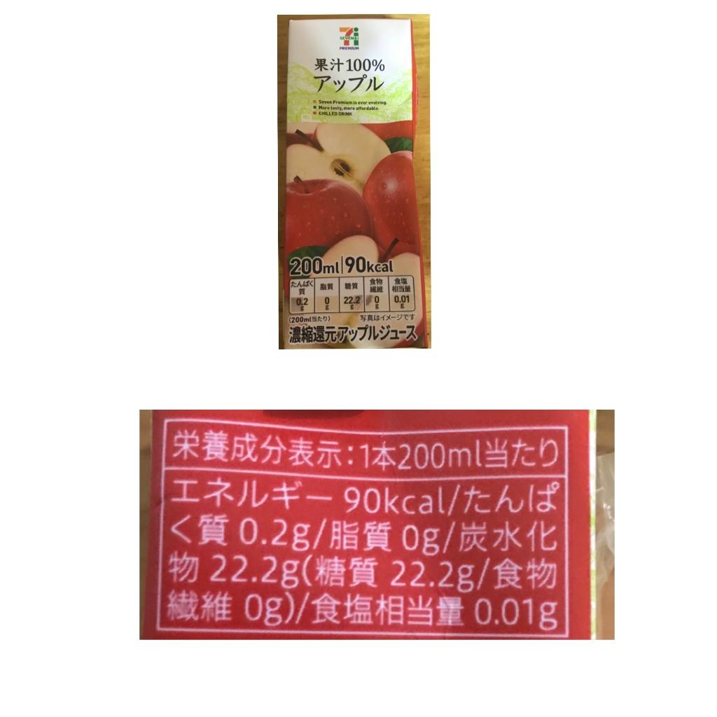 りんご ジュース 栄養