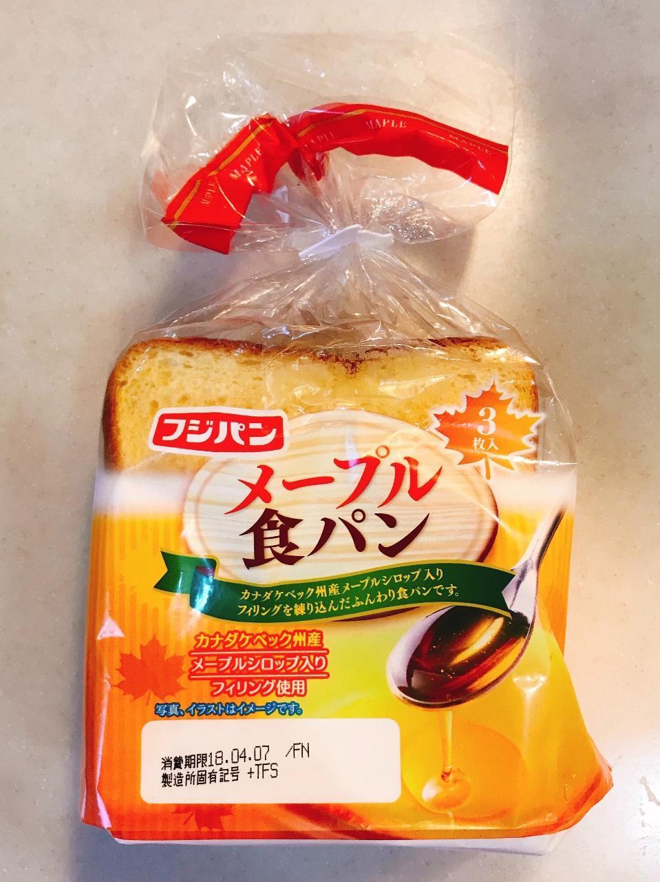 メープル シロップ 食パン