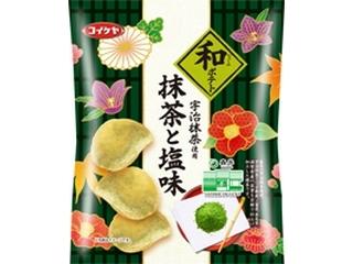 コイケヤ 和ポテト 抹茶と塩味 袋70g