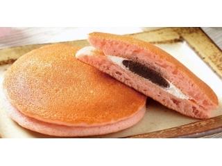 ローソン 桜香るパンケーキ 桜あん&ホイップ