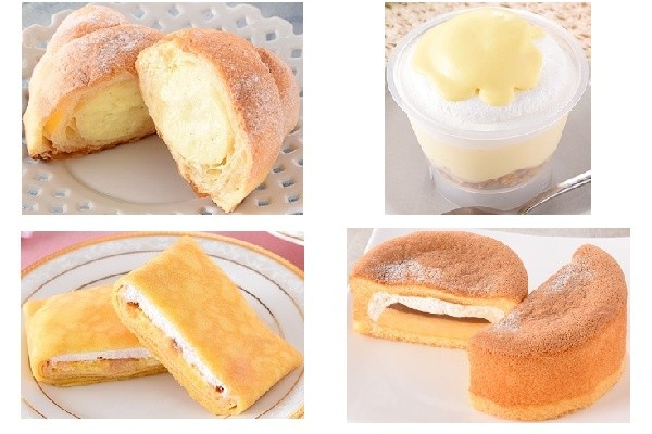 今週新発売のファミマスイーツまとめ!カスタード入りクロワッサンに生チーズケーキなど♪
